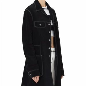 NWT Marc Jacobs Suede Coat